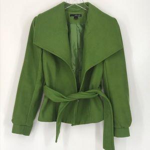 Willi Smith Green Coat Size Small